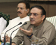 Asif Ali Zardari, president of Pakistan in Islamabad 22 August 2008. Photo: REUTERS