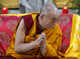 Tibetan spiritual leader Dalai Lama gestures during the blessing of a new Budhist temple in Evry near Paris August 12, 2008. The Dalai Lama is in France from August 11 to 22. REUTERS/Pascal Rossignol (Photo: Reuters)