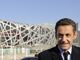 Nicolas Sarkozy in front of the Olympic stadium in November.(Photo : AFP)