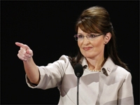 Republican vice-presidential candidate Sarah Palin.(Photo: Reuters)