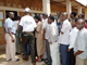 Rwandans queue at a voting station. ( Photo : Reuters )