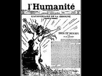 L'Humanité 18 March 1907, with illustration by Steilen.(Source: L'Humanité)
