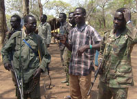 LRA fighters(Photo: Billie O'Kadameri)
