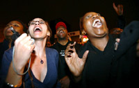 Obama supporters cheer his victory speech(Photo: Reuters)