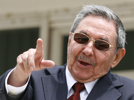 Cuba's President Raul Castro in Brasil on 18 December.(Credit: Reuters)