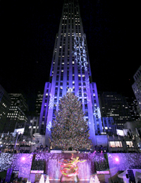 Rockfeller Center (Photo : Reuters)