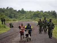 Congolese soldiers near Goma, in the eastern DRC.(Photo: AFP)