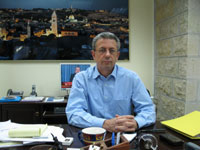 Mustapha Barghouti(Photo: RFI)