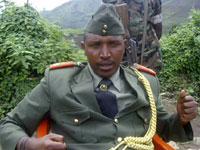 General Bosco Ntaganda addresses a news conference the North Kivu province, earlier this month.(Photo: Reuters)
