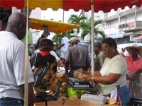 Market in Pointe-a-Pitre, Guadeloupe, 21 February 2009(Photo: S. Elzas)