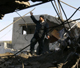 A Hamas outpost hit by Israeli aircraft on Monday 9 February(Photo: Reuters)