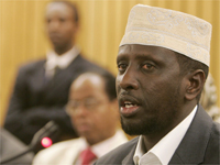 Sharif Sheikh Ahmed, President of Somalia.(Photo: Reuters)