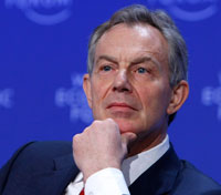 Tony Blair at the World Economic Forum in Davos(Photo: Reuters)