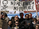 French university researchers and students striking(Photo: Reuters)