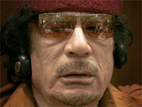 Libyan President and new chairman of the African Union - Moamer Kadhafi.(Photo: Reuters)