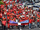 The first day of demonstrations on 5 February 2009 in Fort-de-France, Martinique.(Photo: Fernard Bibas/AFP)