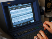 The minitel directory assistance is still accessed over a million times a month.(Photo: Laurent Berthaul)