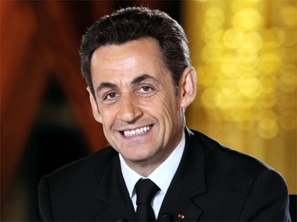 Nicolas Sarkozy during television interview.(Photo: Reuters)