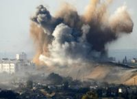 Israeli bombing of Gaza in January(Photo: Reuters)