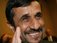 Iran's President Mahmoud Ahmadinejad in Geneva on 19 April 2009(Photo: Reuters)