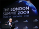 Britain's Prime Minister Gordon Brown speaks at a news conference after the G20 summit at the ExCel centre in east London April 2, 2009(Photo: Reuters)