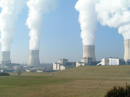 "Nuclear plant in Cattenom, France in 2005(Photo: <a href=""http://en.wikipedia.org/wiki/File:Nuclear_Power_Plant_Cattenom.jpg"">Wikipedia</a>)"