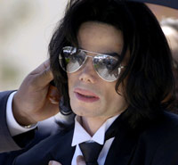 Michael Jackson in 2005.(Photo: Reuters)