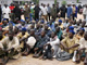 Alleged members of Boko Haram sit after their arrest in Kano in northern Nigeria by police on 27 July 2009(Photo: Reuters/Afolabi Sotunde)