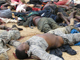 The bodies of Nigerians are brought to a police station in the northeastern city of Bauchi after clashes between security forces and armed groups on 26 July, 2009(Photo : Reuters/Ardo Hazzad)