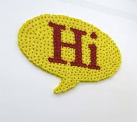 Hi by Hsia-Fei Chang (2008)Courtesy of Galerie Laurent Godin, Paris