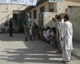 Voters queue in Kabul Shah Shaheen neighbourhood(Photo: Tony Cross)