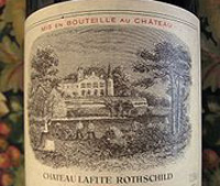 Château Lafite Rothschild, one of the wines on sale(Photo: Michael Case/Public access)