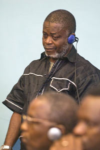 Augustine Gbao, sentenced to 25 years in prison for war crimes (Photo: Special Court for Sierra Leone)