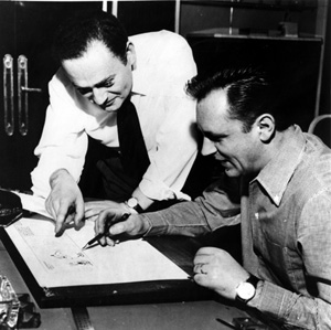 Albert Uderzo et René Goscinny