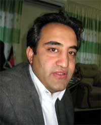 Balkh Provincial Council leader Farhad Azimi(Photo: Tony Cross/RFI)