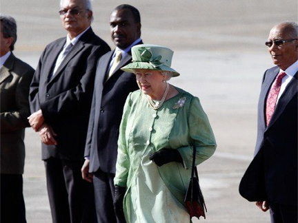 Queen Elizabeth II arriving in Trinidad and Tobago on Thursday for Commonwealth summit(Photo: Chogm2009)