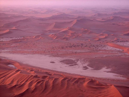 The Namib desert in Namibia(Photo: Wikipedia)