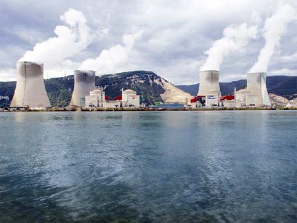 Cruas nuclear power station in Ardèche, Southern France (Photo: EDF)