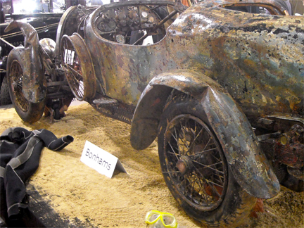 The rusty 1925 Bugatti Brescia Type-22