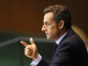 Nicolas Sarkozy speaks at  the UN General Assembly(Photo: Reuters)