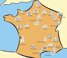 Mapa Turistico De Francia.Mapa Turistico Francia Mapa