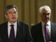 Gordon Brown y Alistair Darling.(Foto: Reuters)