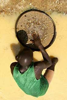 Prospecteur de diamants.(Photo: AFP)
