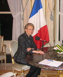 Michèle Alliot-Marie. 
