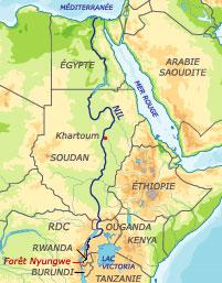 Carte Afrique Nil.Rfi Afrique Au Rwanda Coule Le Nil