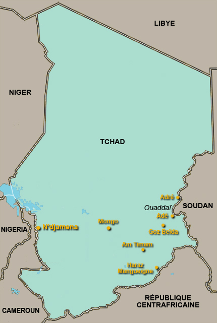 RFI - Tchad - N'Djamena dans l'incertitude