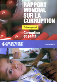 La santé, un marché de 3 000 milliards de dollars par an.(Source : Transparency international)