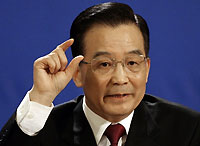 Wen Jiabao, le Premier ministre chinois.(Photo: AFP)