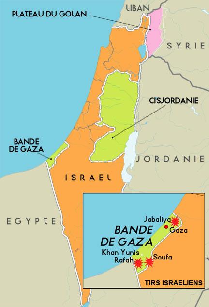 Carte Moyen Orient Palestine.Rfi Proche Orient La Guerre N Oublie Pas Gaza