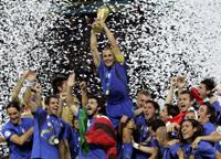 Rfi coupe du monde 2006 le titre l 39 italie - Musique coupe du monde 2006 ...
